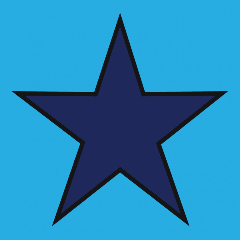 Highways England blue star item