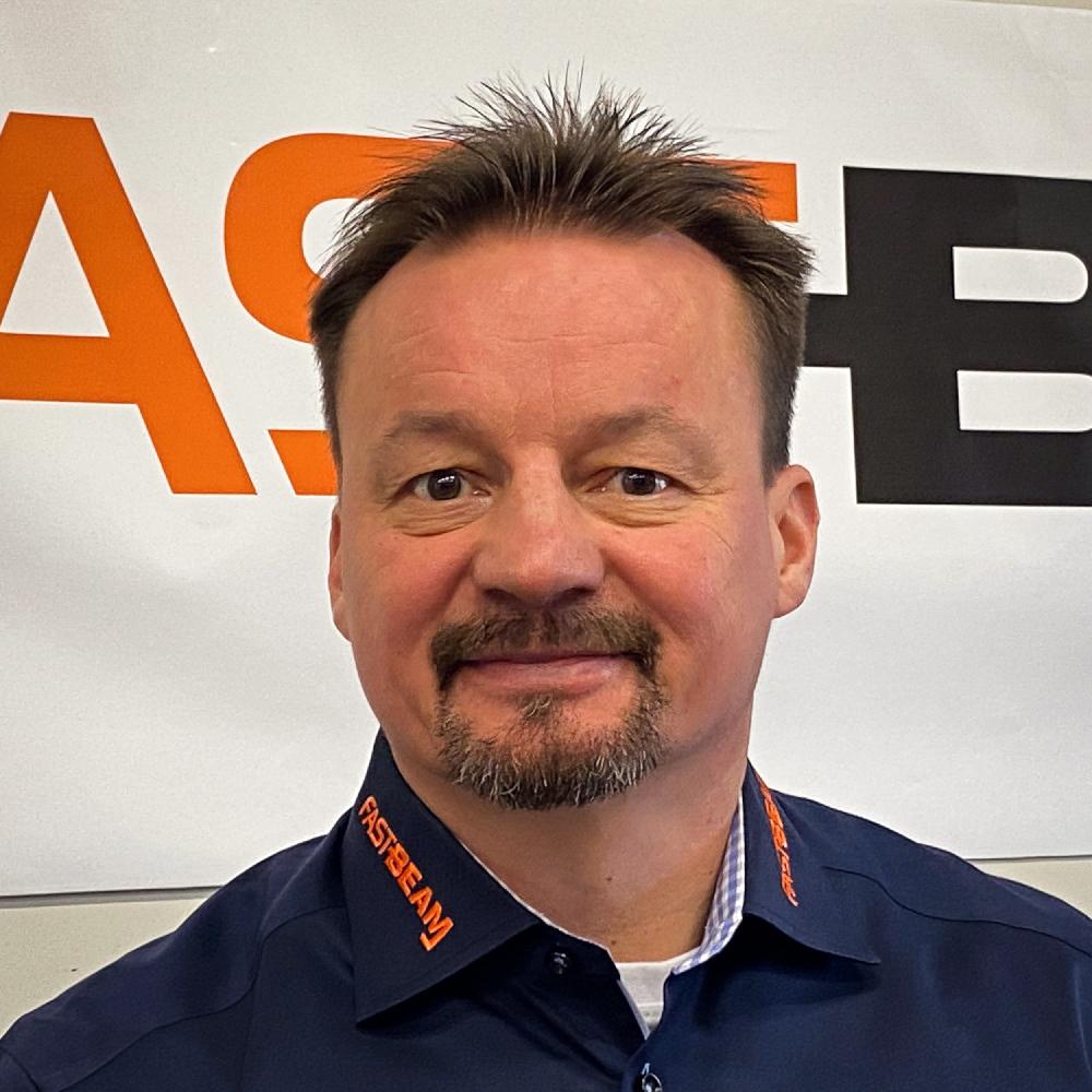 Fast Beam founder Antti Hyvönen