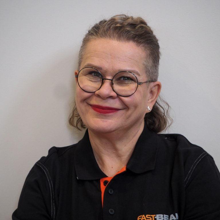 Fast Beam CEO Kati Saari