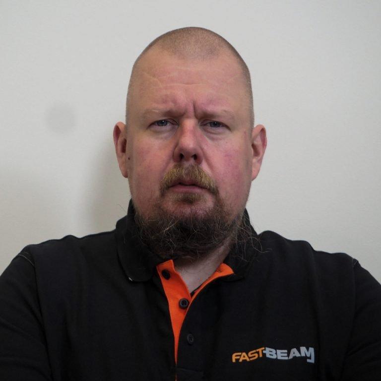 Fast Beam sales director Ville Leppänen